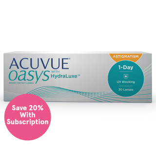 ACUVUE OASYS 1-Day for ASTIGMATISM Subscription