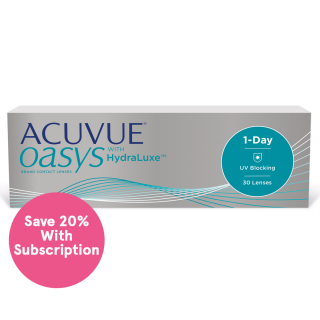ACUVUE OASYS 1-Day with HydraLuxe Technology Subscription