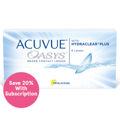 ACUVUE OASYS with HYDRACLEAR PLUS Subscription